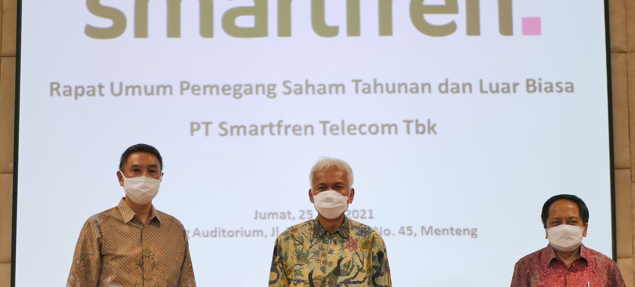 Direksi Smartfren Umumkan Nama Dewan Komisaris