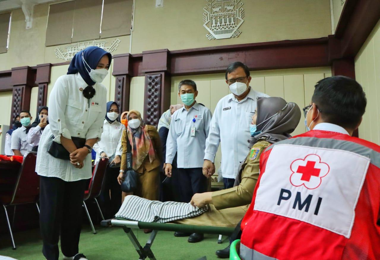 PMI Gandeng Pemerintah Provinsi Lampung Luncurkan Gerakan Ini