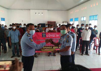 55 Warga Binaan Rutan Kelas IIB Kotabumi Dapat Asimilasi, Ka. Rutan: Jangan Pidana Lagi