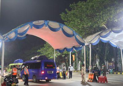 Hari Ke-18 PPKM Darurat, Polda Banten Putarbalikan 4.197 kendaraan