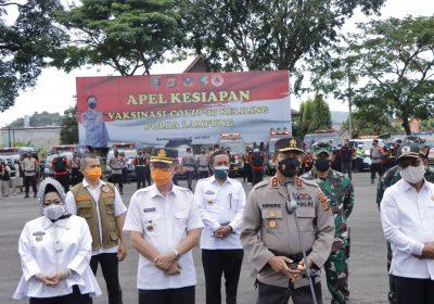 Pemprov Lampung dukung pelaksanaan Kegiatan Vaksinasi Covid-19 Keliling