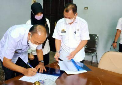 DPRD Lampura Gelar Sertijab Pergantian Jabatan Sekwan