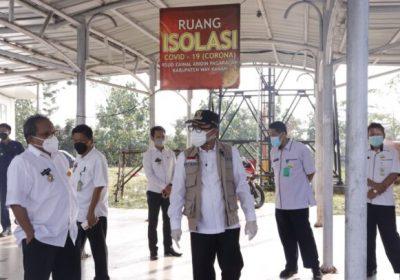 Bupati Way Kanan Sidak Fasilitas Kesehatan Di UPT Puskesmas Blambangan Umpu & RS Zapa